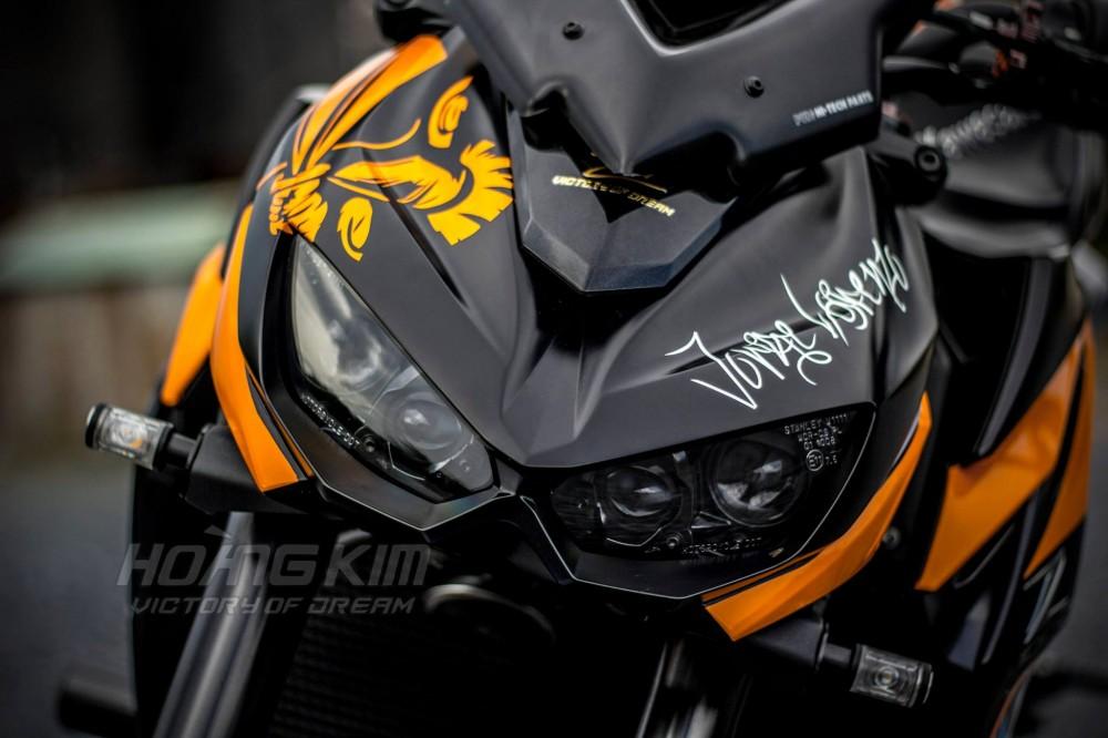 Kawasaki Z1000 dep an tuong voi phien ban Lorenzo Knight - 7
