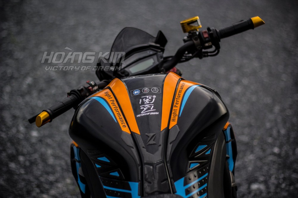 Kawasaki Z1000 dep an tuong voi phien ban Lorenzo Knight - 8