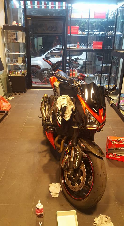 Kawasaki Z800 do ham ho khoe dang tai Thai Lan - 6