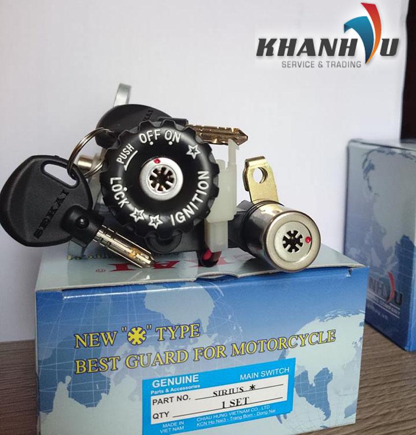 Khoa Xe 8 Canh SeKai8 Chau 4 O BiChat Luong An ToanBao Ve Toan Dien Cho Xe Iu - 6