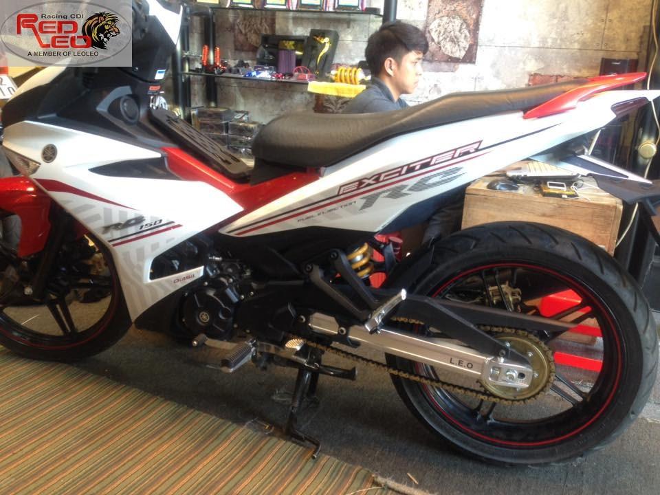 Leo Leo Racing Shop Gap nhom Ex 150i moi ve hang - 3