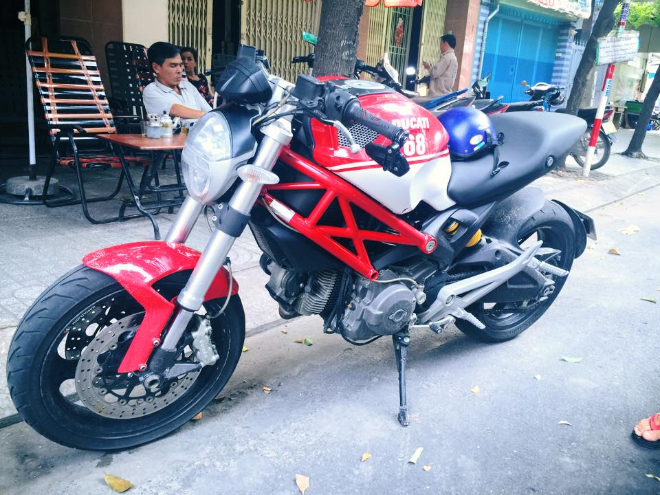 Loat anh Ducati 696 2010 ban Italy do Po SC Made in Italy hang xin full co - 4