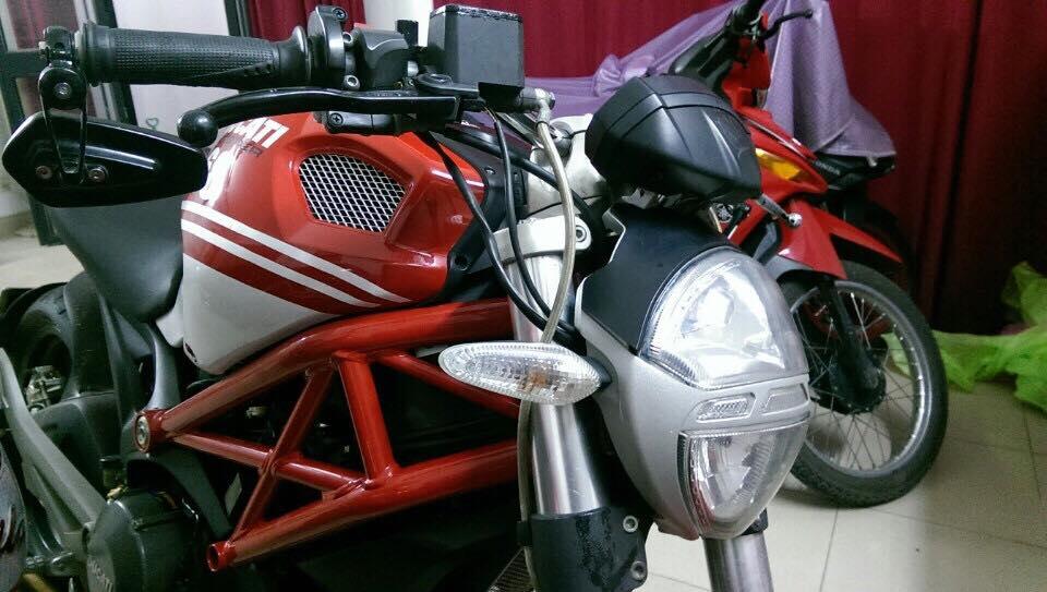 Loat anh Ducati 696 2010 ban Italy do Po SC Made in Italy hang xin full co - 6