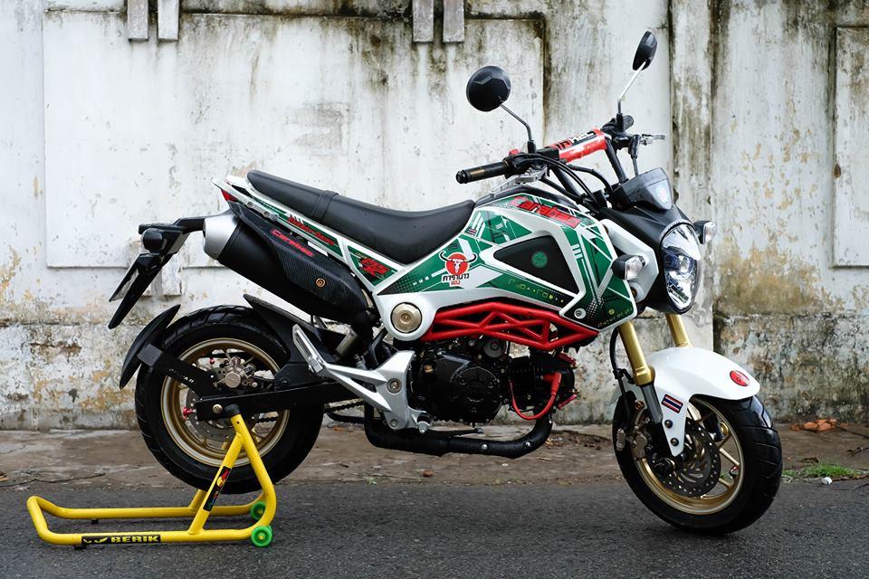 MSX con xe nho duoc dan choi mini bike ua chuong - 5