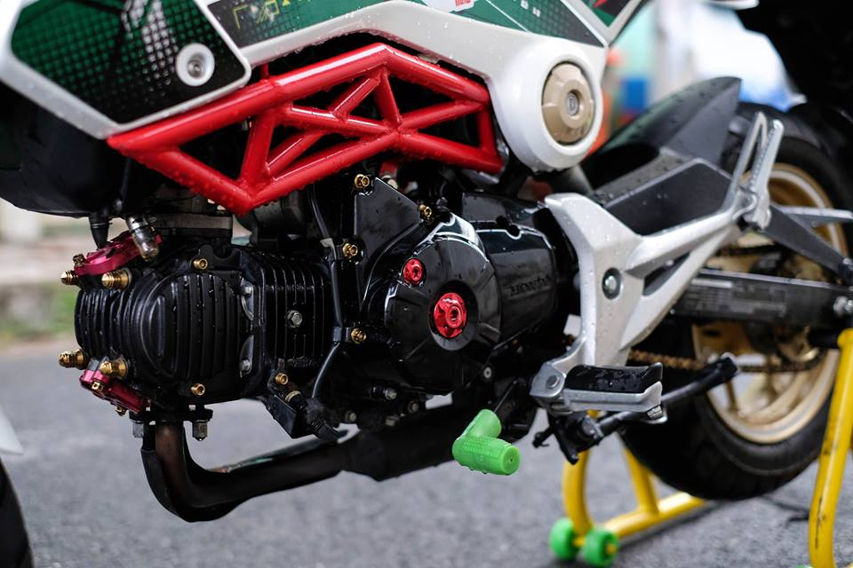 MSX con xe nho duoc dan choi mini bike ua chuong - 6