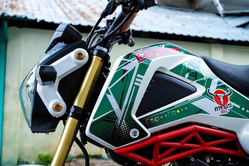 MSX con xe nho duoc dan choi mini bike ua chuong - 7