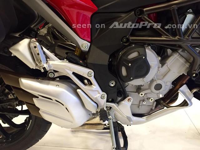 MV Agusta Turismo Veloce 800 Lusso Edition dau tien cua Chau A tai Viet Nam - 11