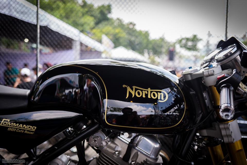 Norton Commando 961 Cafe Racer tai VMF 2015 - 11