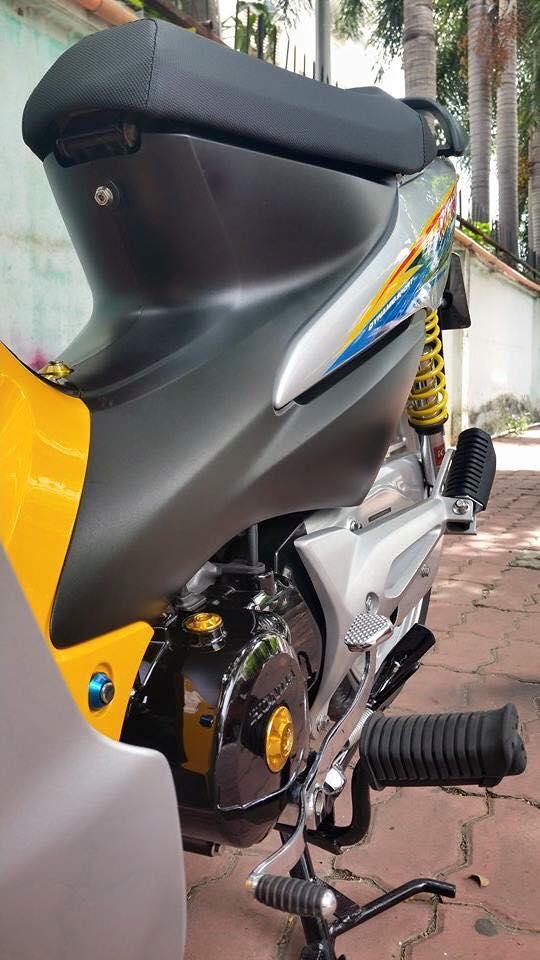 Phien ban vang bac cua chiec Honda Wave Thailan - 2