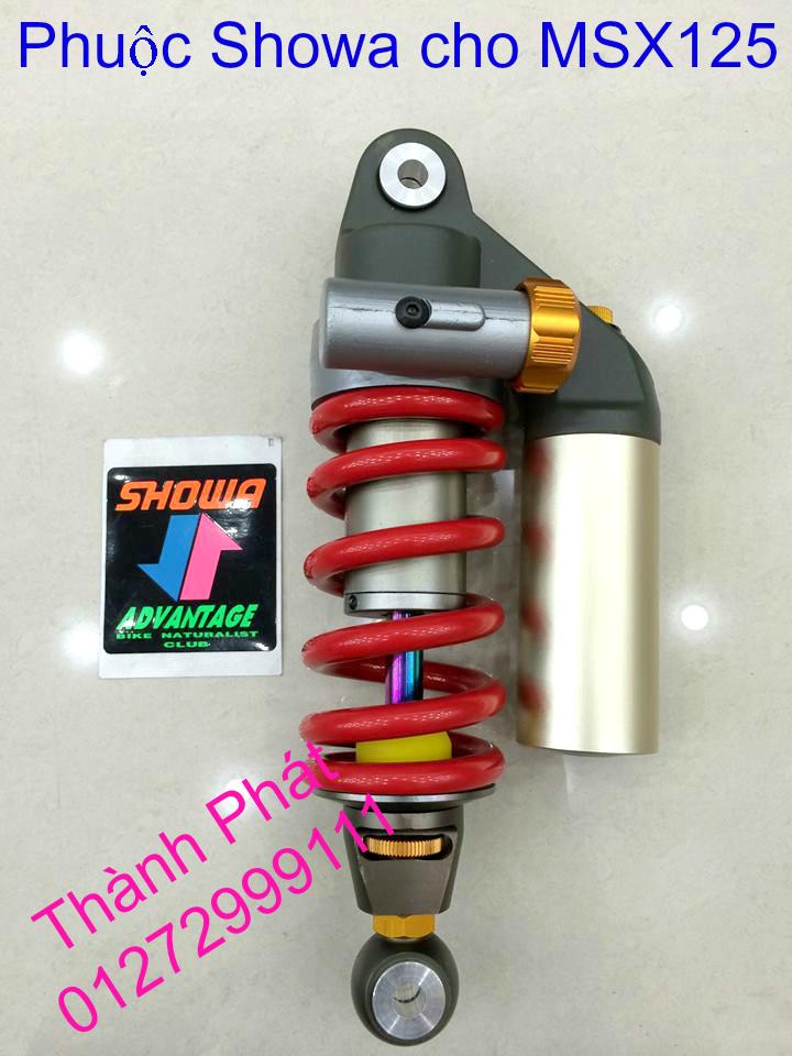 Do choi Honda MSX 125 tu A Z Po do Kinh gio Mo cay Chan bun sau de truoc Ducati Khung suo - 36