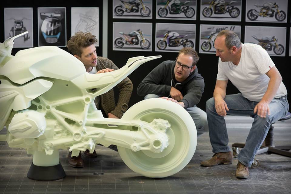 Qua trinh thuc hien sieu pham BMW Concept Roadster - 4
