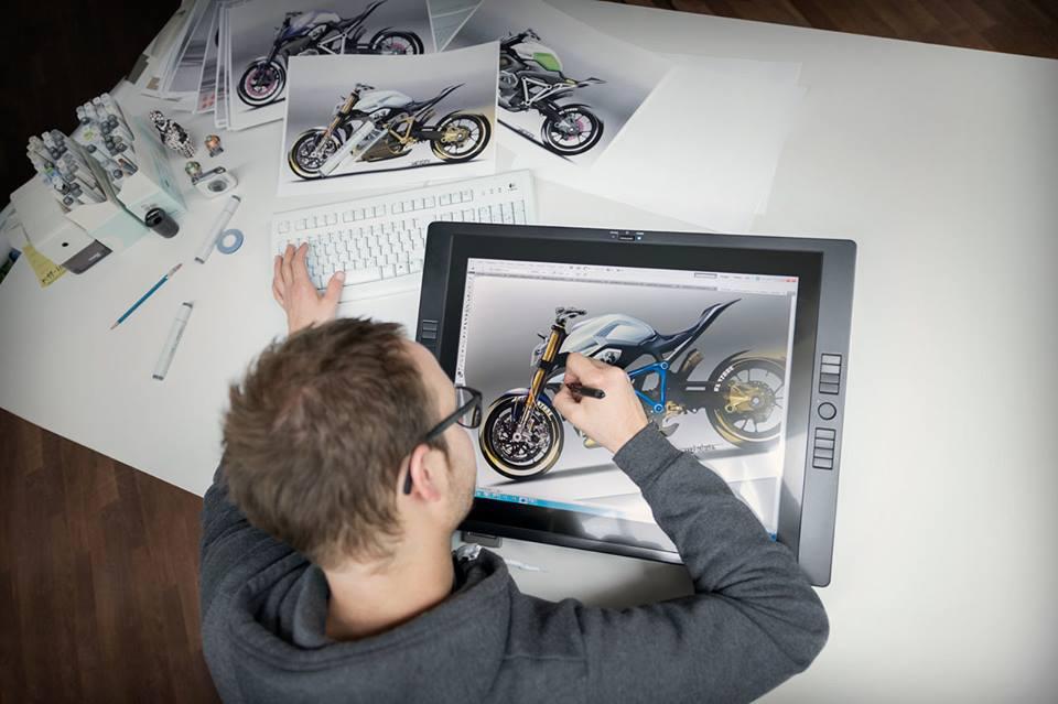 Qua trinh thuc hien sieu pham BMW Concept Roadster - 2
