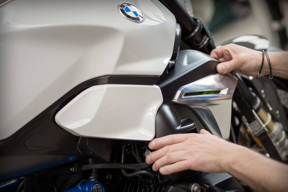 Qua trinh thuc hien sieu pham BMW Concept Roadster - 19