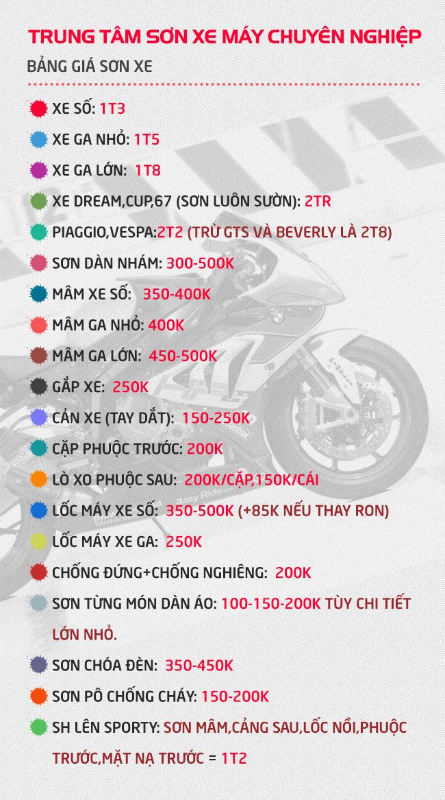 Dich Vu Son xe Mio chuyen nghiep chat luong cao tai Sai Gon - 5