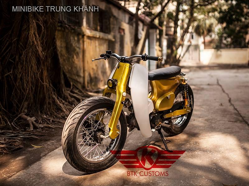 Super cub nhung ban do dep cua Minibike Trung Khanh HN - 2