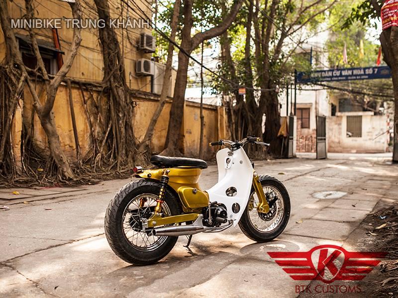 Super cub nhung ban do dep cua Minibike Trung Khanh HN - 3