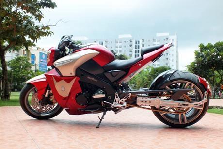 Suzuki bKing phien ban Ironman - 4