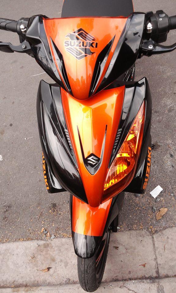 Suzuki hayate 125 phien ban do chat lu