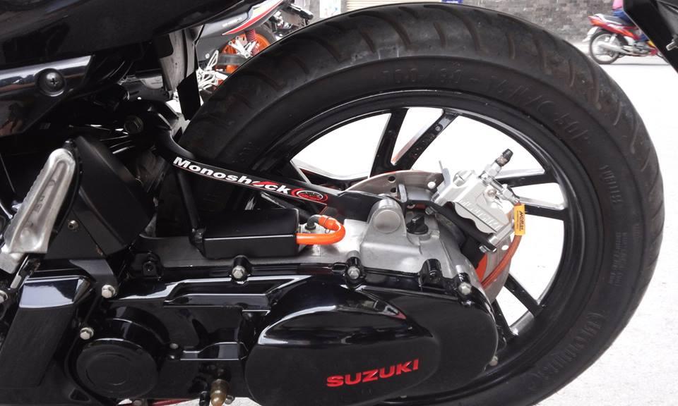 Suzuki hayate 125 phien ban do chat lu - 3