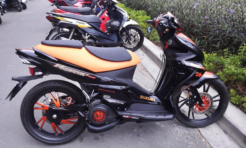 Suzuki hayate 125 phien ban do chat lu - 4