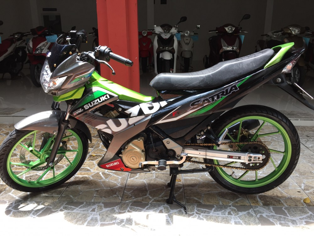 Suzuki Raider 150 doi 2014 leng keng zin chinh chu