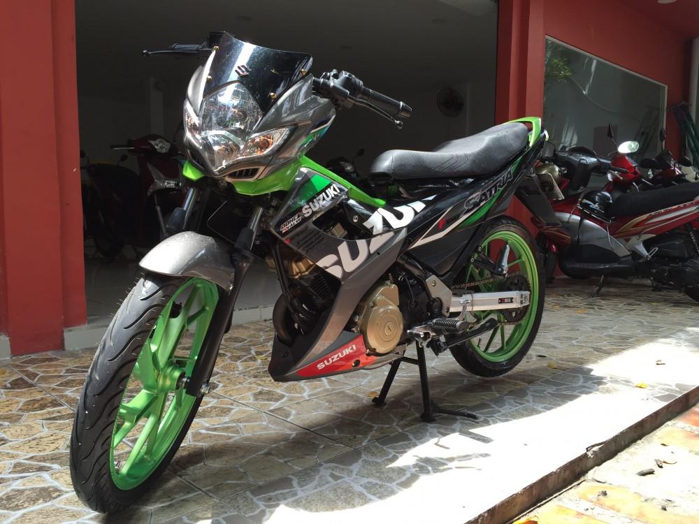 Suzuki Raider 150 doi 2014 leng keng zin chinh chu - 2