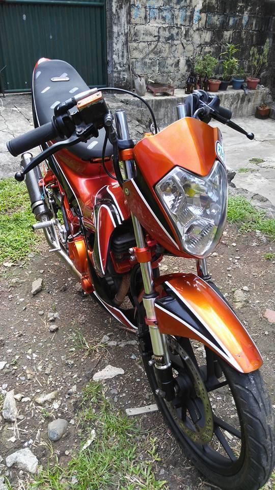 Suzuki raider ca tinh voi Decal don gian - 6