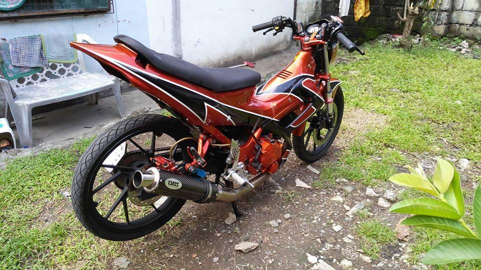 Suzuki raider ca tinh voi Decal don gian - 7