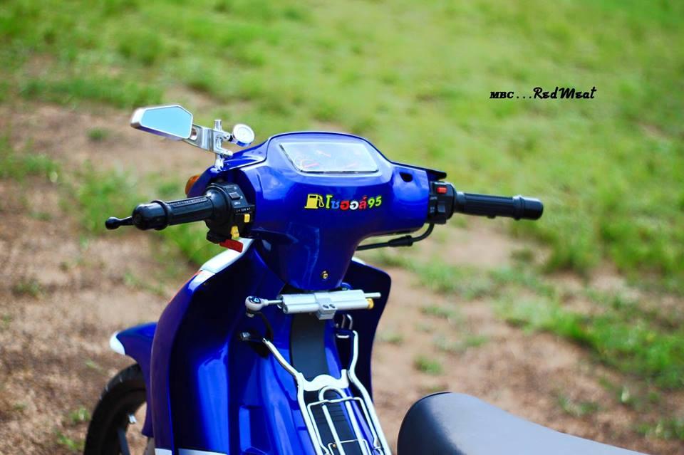 Suzuki satria 120 do phong cach zin di dao pho - 10