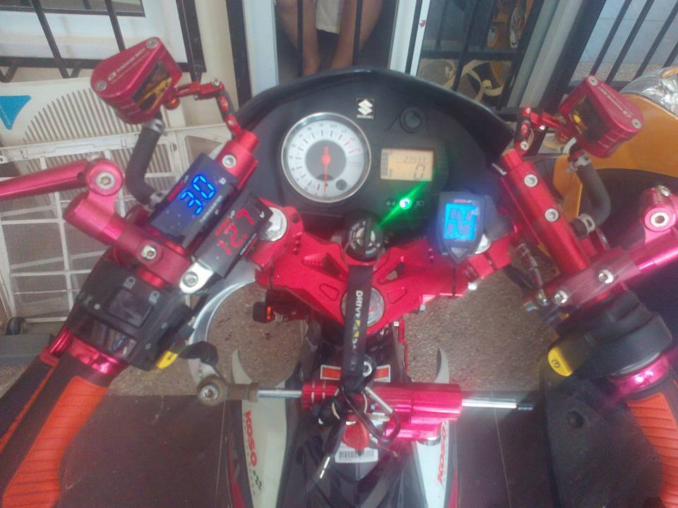 Suzuki Satria F do cua nha Racingboy - 4