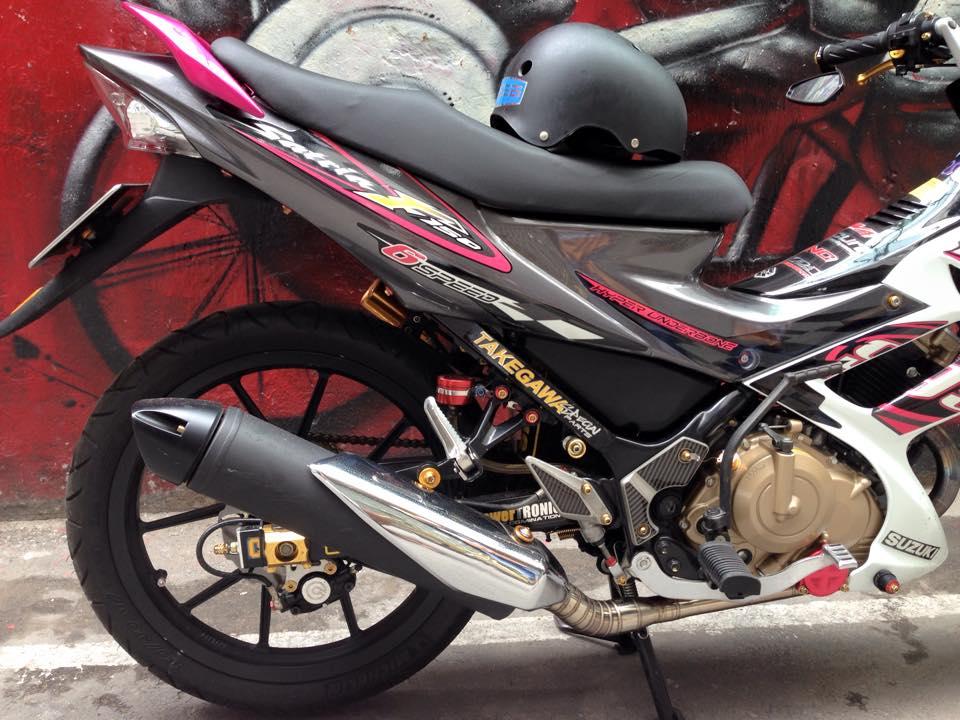 Suzuki Satria F150 do sanh dieu cua dan choi Viet - 4