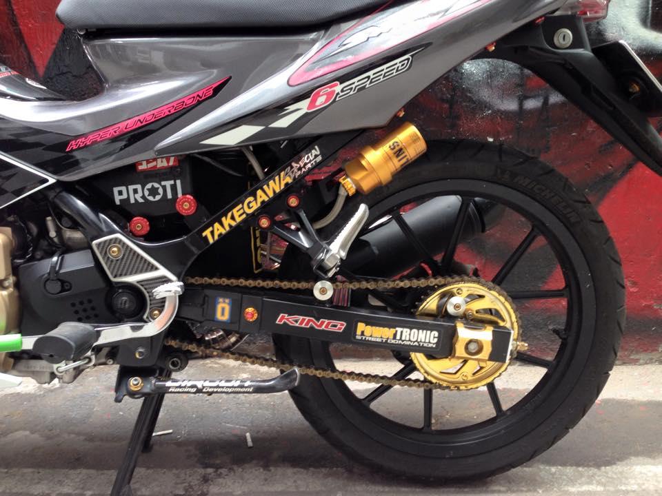 Suzuki Satria F150 do sanh dieu cua dan choi Viet - 5