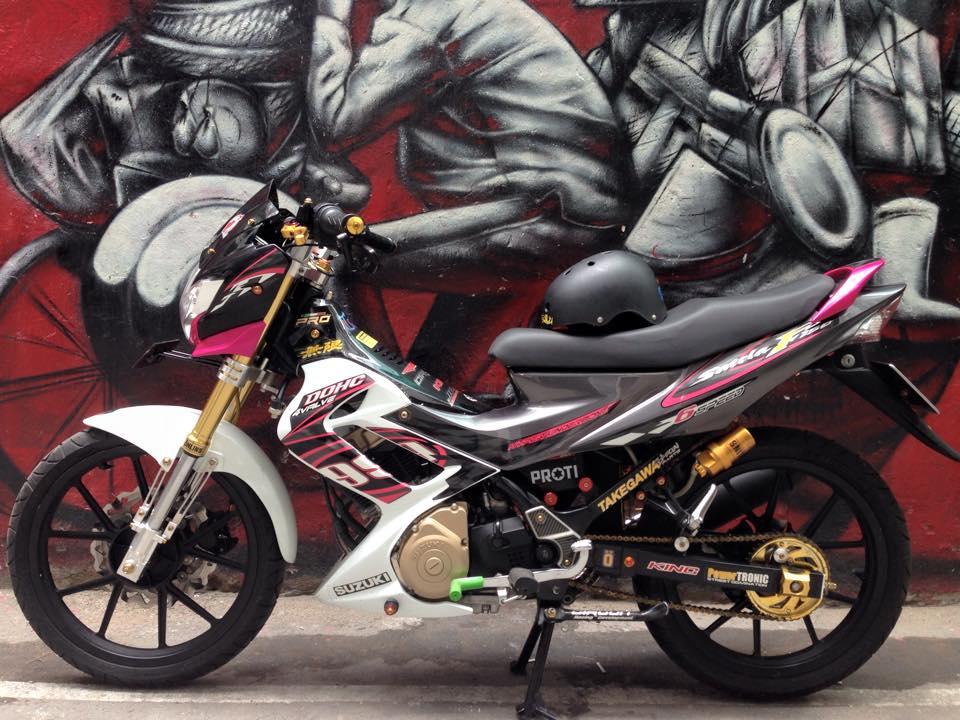 Suzuki Satria F150 do sanh dieu cua dan choi Viet - 6