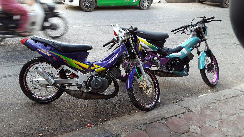 Suzuki stinger con xe 2 thi lung lay mot thoi - 4