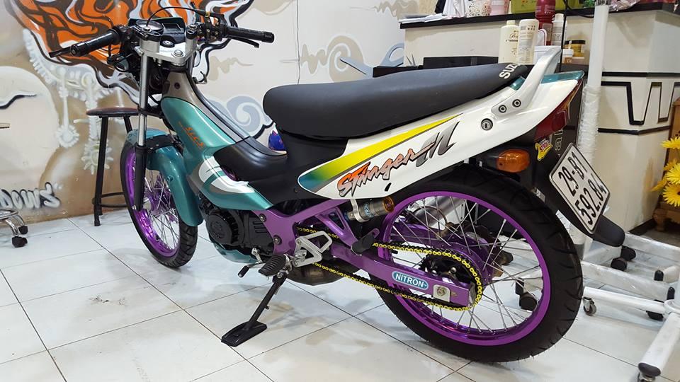 Suzuki stinger con xe 2 thi lung lay mot thoi - 5