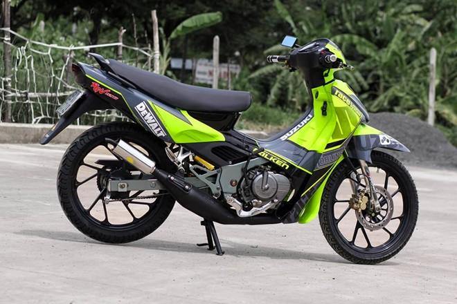 Suzuki Xi po Xanh da quang cuon hut - 2