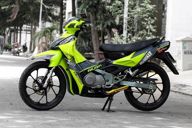Suzuki Xi po Xanh da quang cuon hut - 5