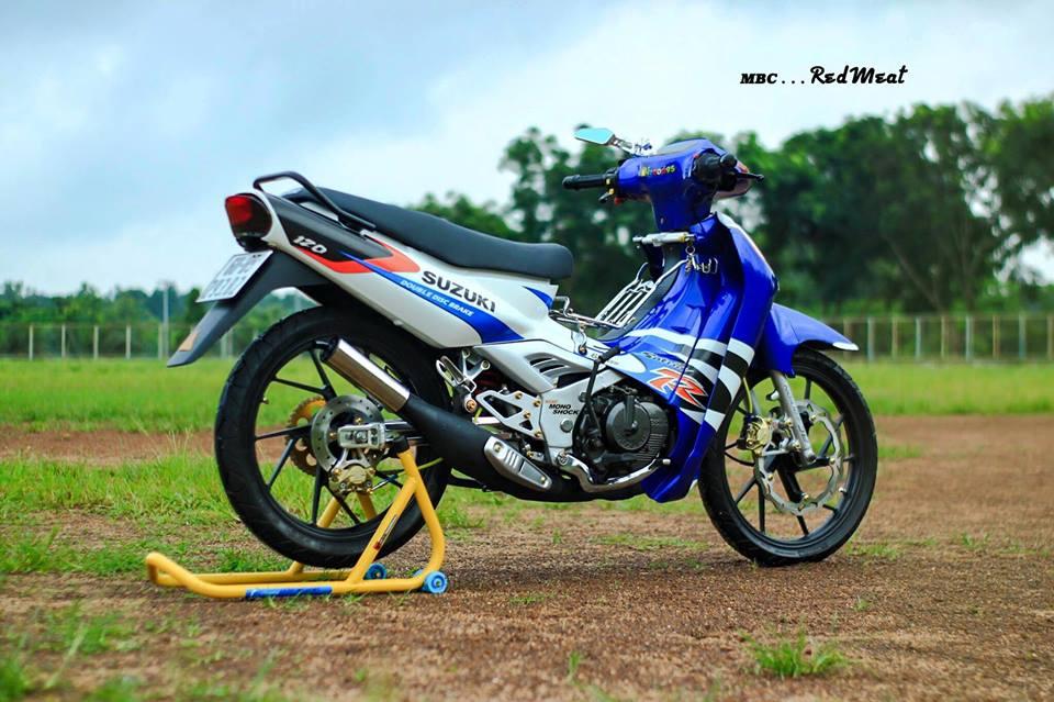 Suzuki satria 120 do phong cach zin di dao pho