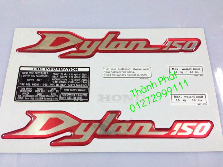 Chuyen Phu tung zin Do choi xe SHi150 2002 2013 Dylan PS - 23