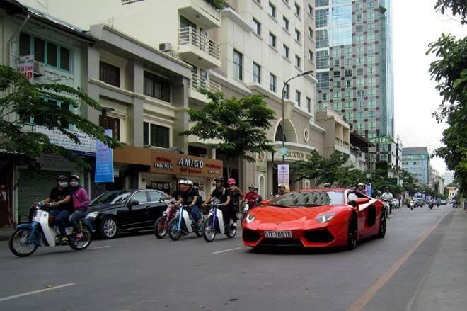 Xe Cub Do bao Hong cua Mot tay phuot Sai Gon - 5