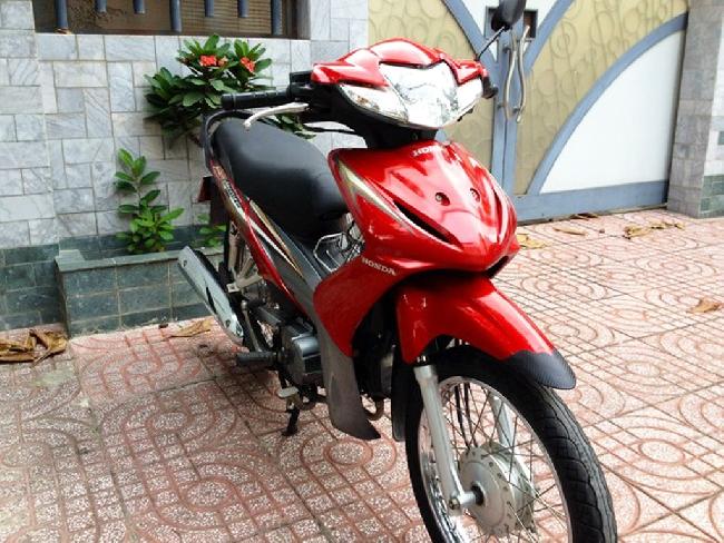 Xe Honda Wave S 2010 mau do - 2