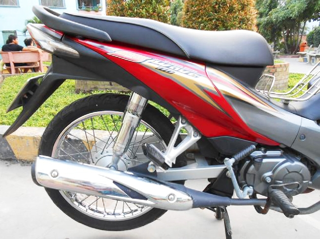 Xe Honda Wave S 2010 mau do - 3
