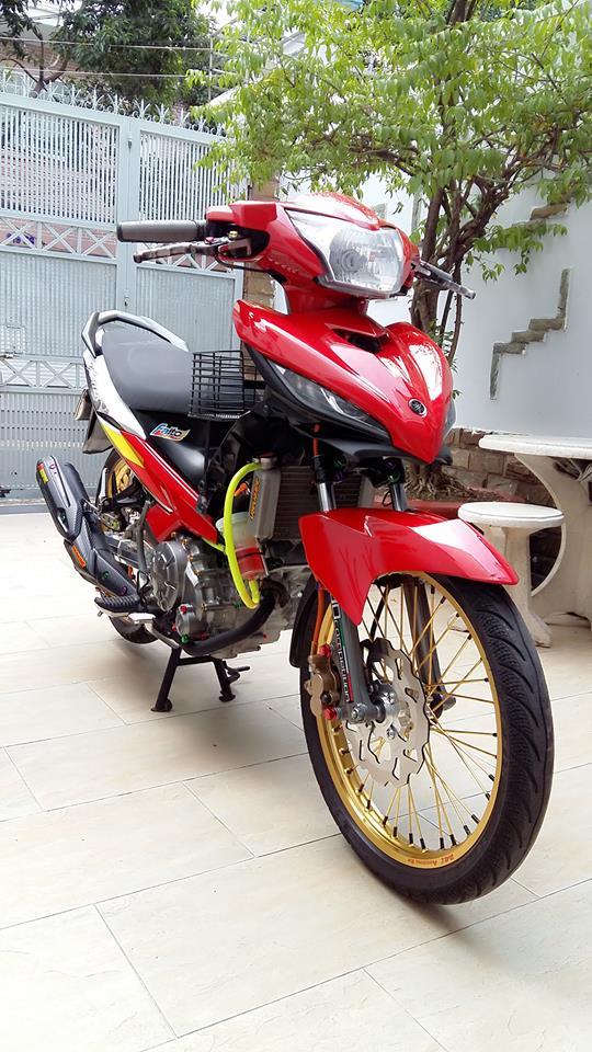 Yamaha Exciter do kieng cung dan may do full 150cc