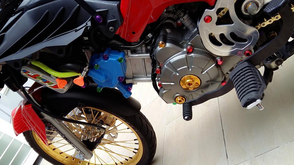 Yamaha Exciter do kieng cung dan may do full 150cc - 2