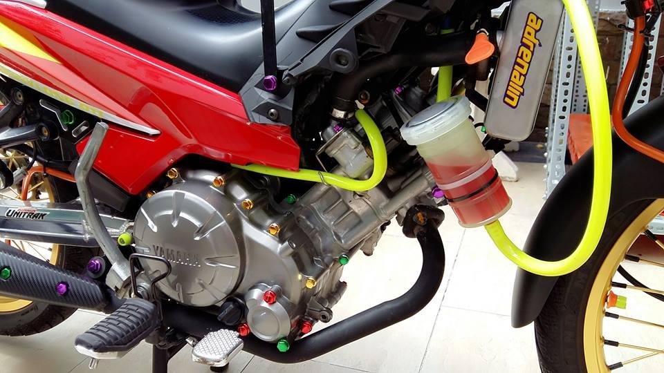 Yamaha Exciter do kieng cung dan may do full 150cc - 4