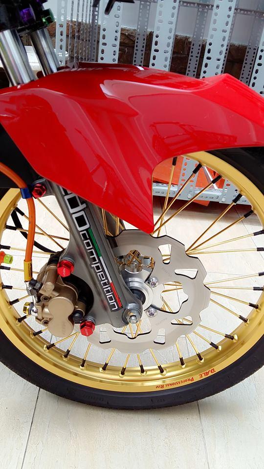 Yamaha Exciter do kieng cung dan may do full 150cc - 5