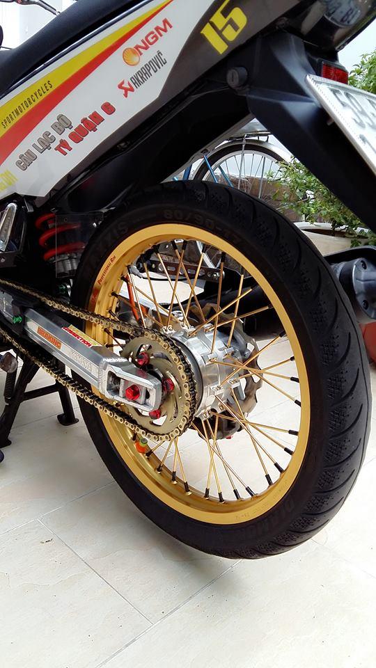 Yamaha Exciter do kieng cung dan may do full 150cc - 6