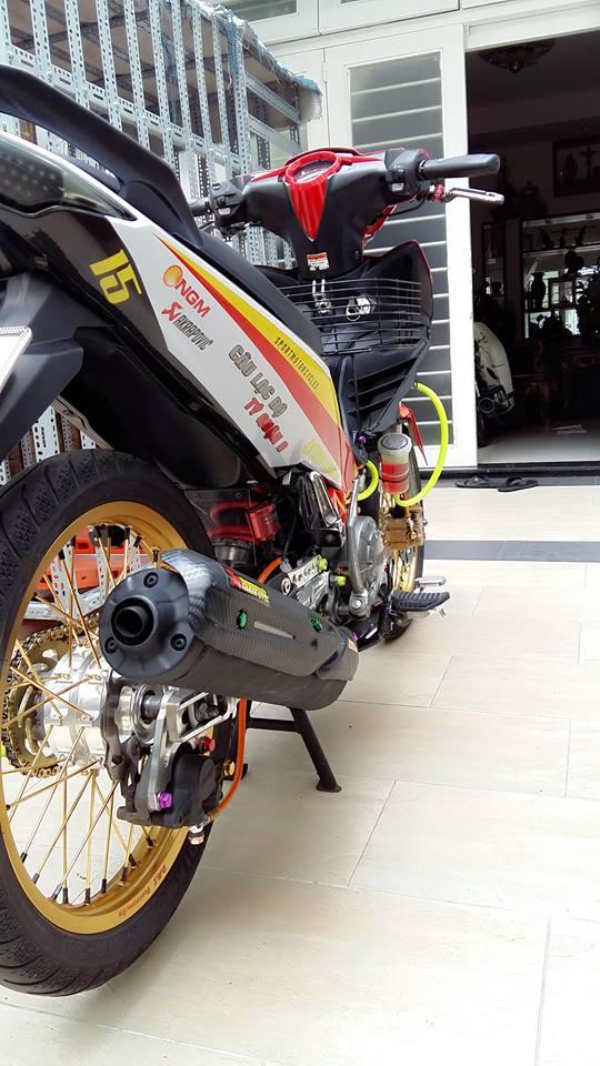 Yamaha Exciter do kieng cung dan may do full 150cc - 7