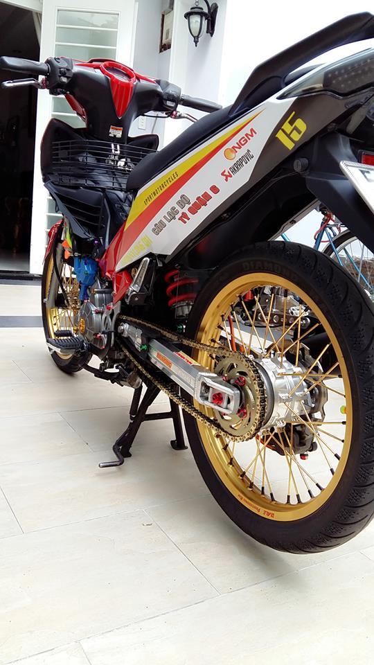 Yamaha Exciter do kieng cung dan may do full 150cc - 10