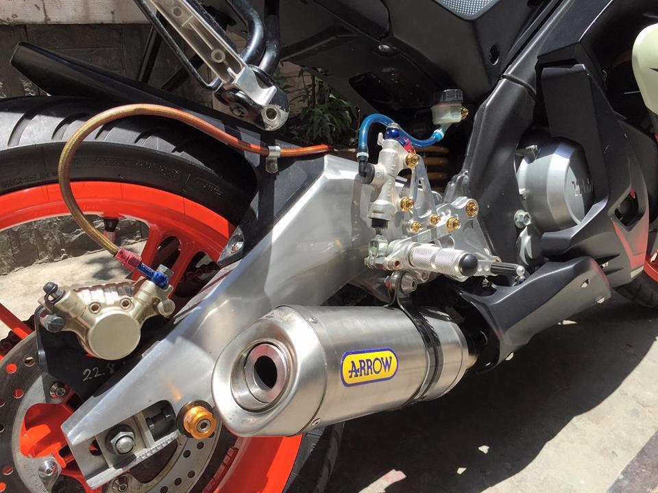 Yamaha R125 do kha chat tren dat Viet - 4